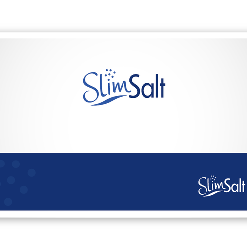 Fresh and Simple Logo for SlimSalt