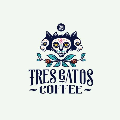 Logo concept for coffee shop