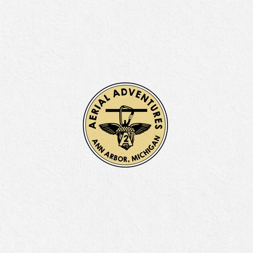 Creative logo for adventure