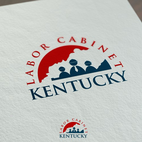 Logo oncept for Kentucky Labor Cabinet