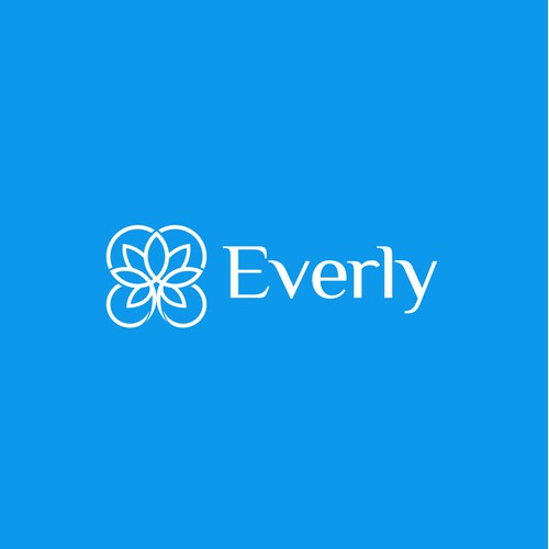 Logo for a new master-planned community named Everly.