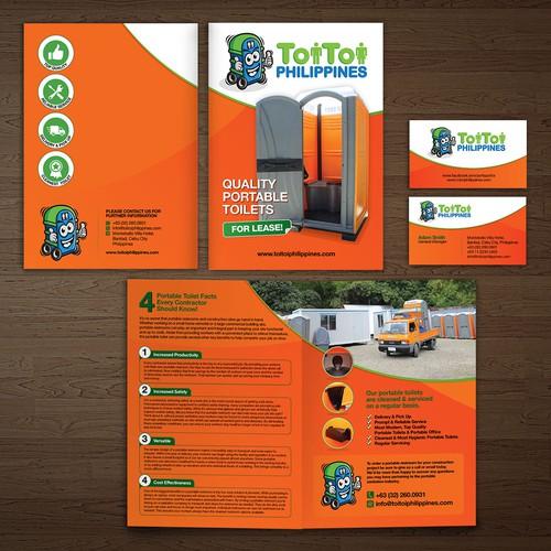 ToiToi Brosur & Namecard