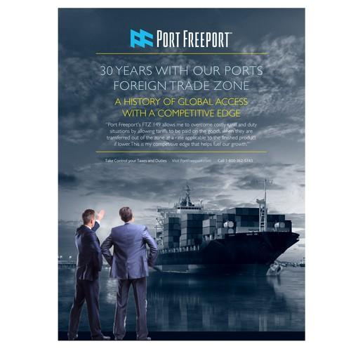 Port Poster Ad