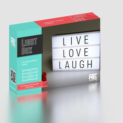 box design for Light Box