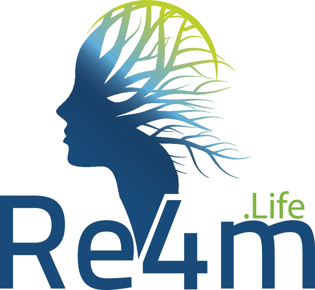 Logo that portrays unique new concept, Rx4Life, the integration of physical and mental health.