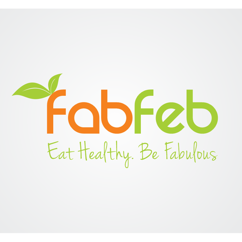 Create a FABULOUS healthy eating inspired logo for FabFeb that really connects with people