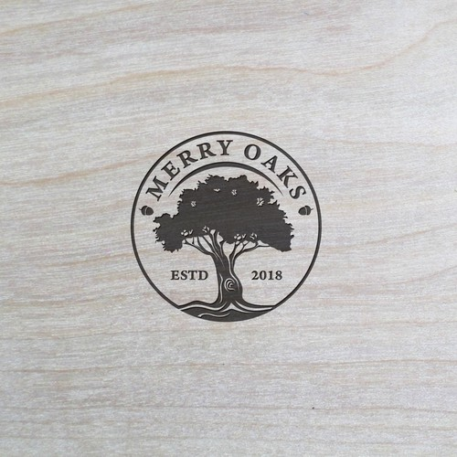Logo design for A Rustic Artisan Leather and Wood Product company.