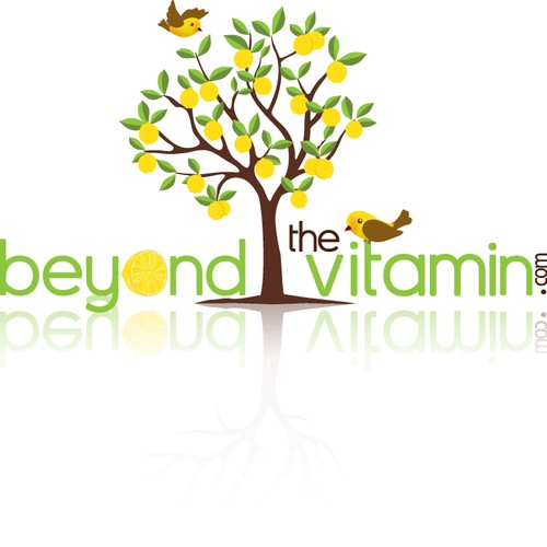 Logo for Beyond the vitamin online shop