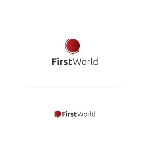 Logo concept for First World