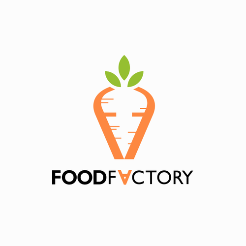 Logodesign for FOOD FACTORY - A vegetable market