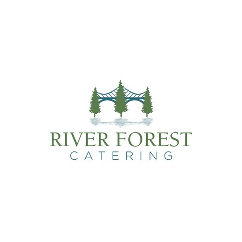 A classy catering logo.
