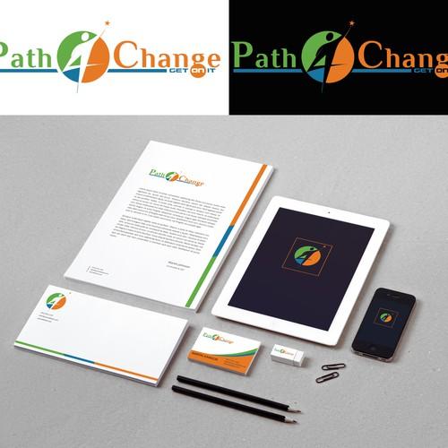 Path 4 Change Logo Design concept