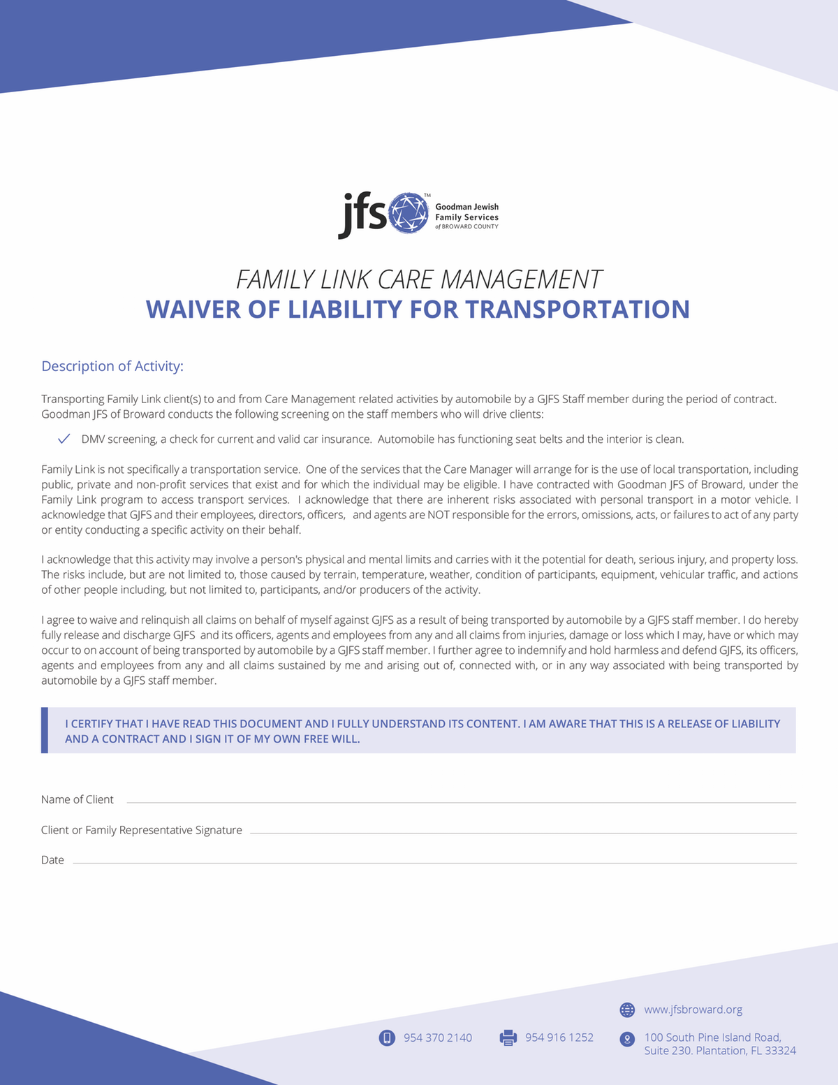 Care Management Forms