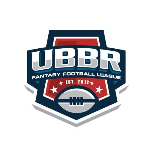 Fantasy Football League Logo Design