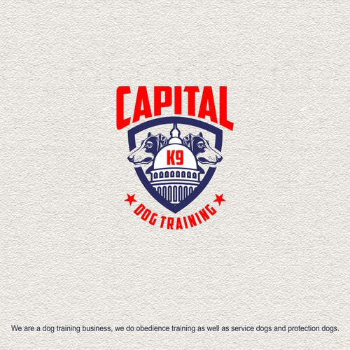 Capital K9 Logo Design