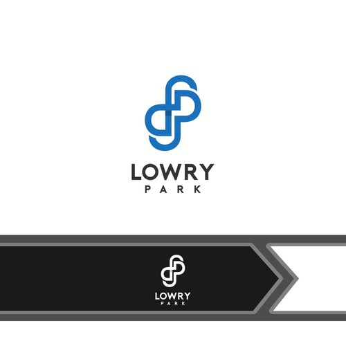logo concept for LOWRY PARK