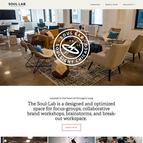 Soul Lab Chicago - Modern Squarespace Website Build