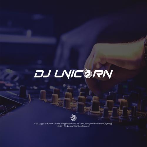 dj unicorn logo