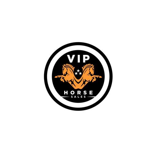 VIP Horse Sales Logo