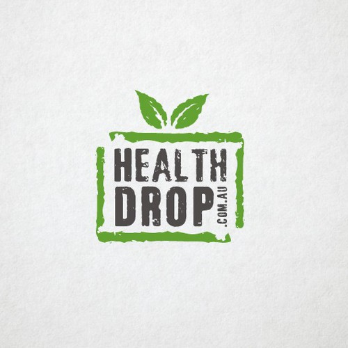 health drop needs a new logo