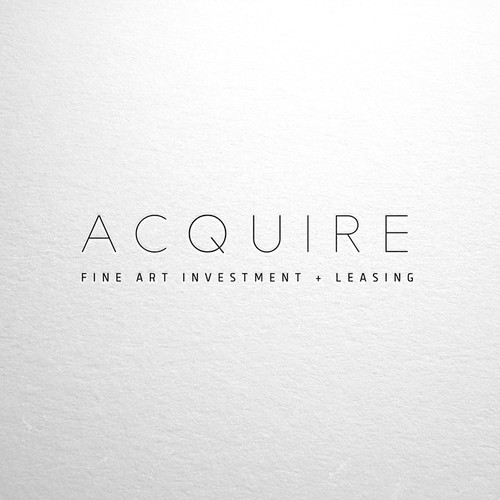 Sophisticated, Elegant, Simple logo/brand design