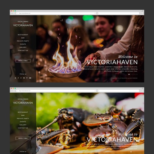 Web Design for Victoriahaven