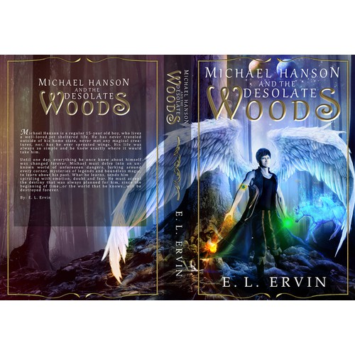 Create a EPIC fantasy cover filled with magic!
