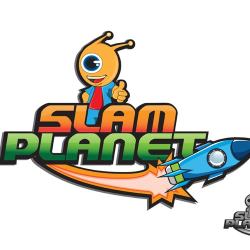 Create the next logo for slam planet