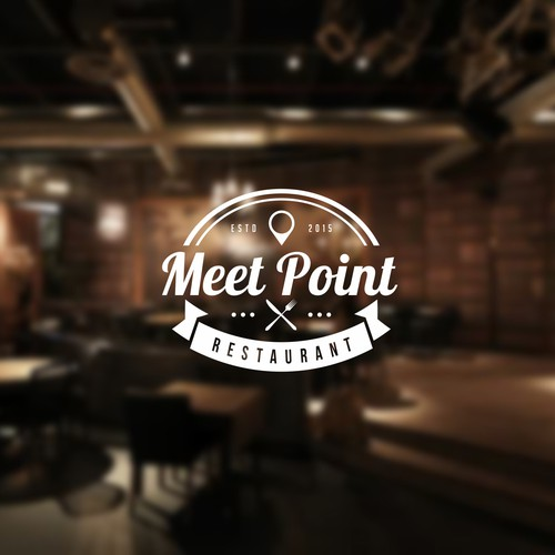 vintage concept for Meet Point