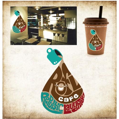 logo for ROFL CAFE
