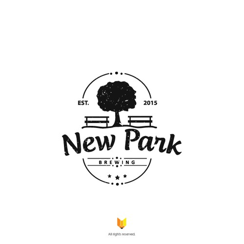 Create a logo for New Park Brewing