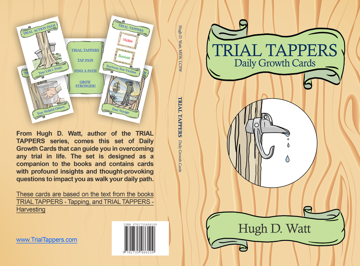 Trial Tappers Book 3 Daily Growth Cards