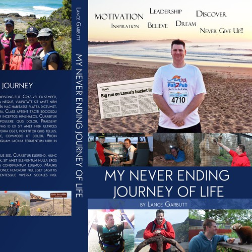 Create a capturing collage book for My Never Ending Journey Of Life