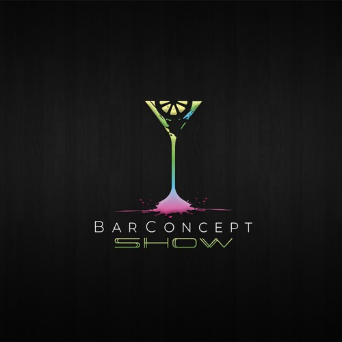 modern logo concept for Bar Concept Show
