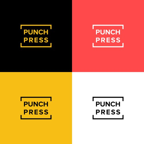 Logo design for Punch Press Books