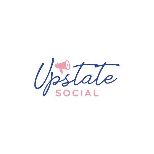 logo conceps for Upstate social