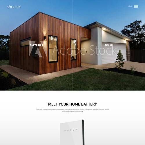 Clean and sleek design
