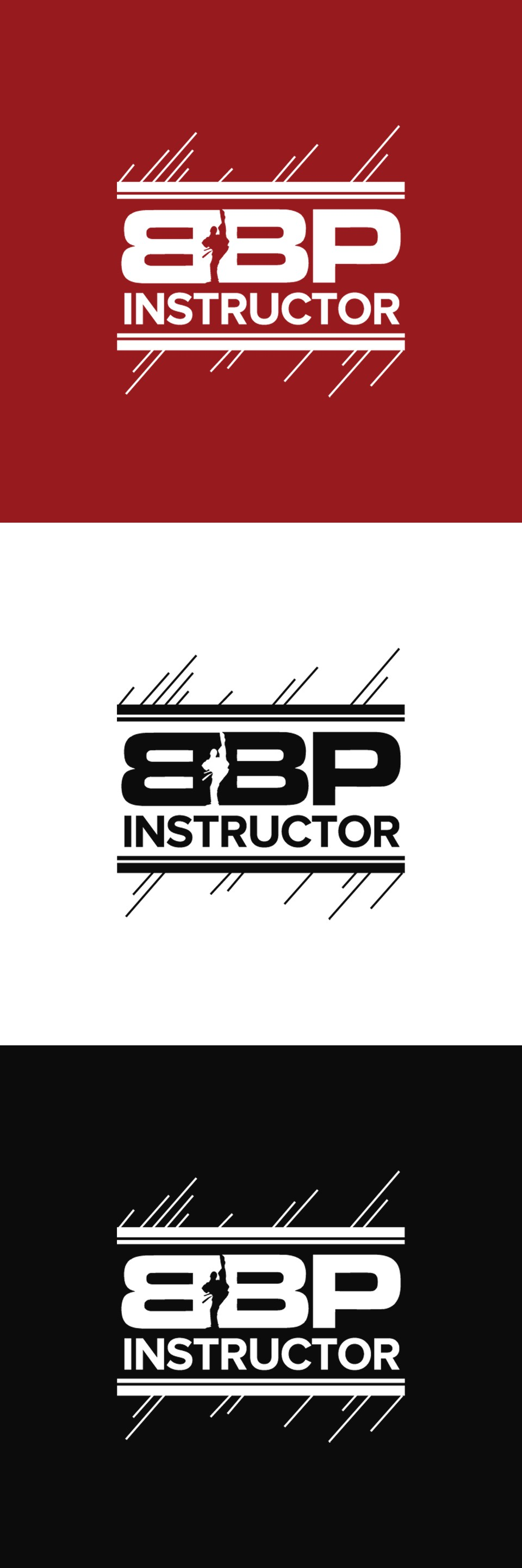 Design a powerful logo for our BBP Instructor's Jacket