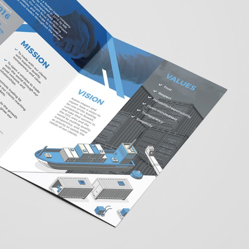 Kairos Brochure Design