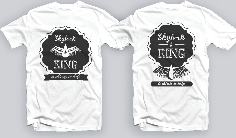 New mandala/wings t-shirt design wanted for skylark & king