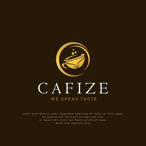 Logo Design for Cafize Coffee