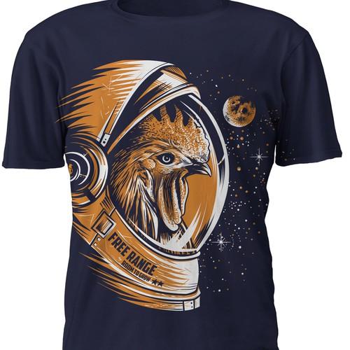 FreeRange T-shirt design