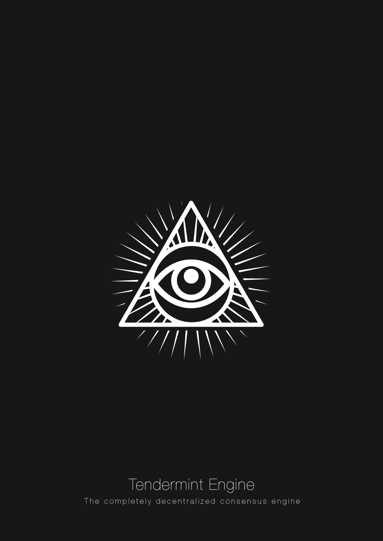Create an icon for Tendermint, a blockchain technology.
