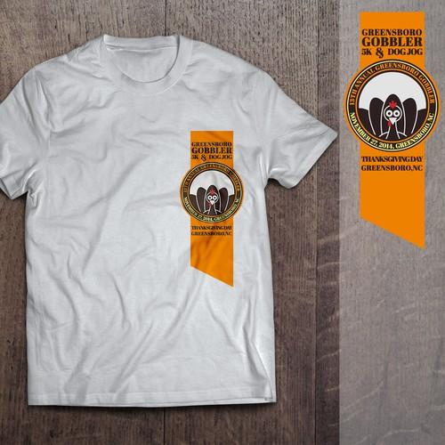 Turkey Trot Run Shirt Design