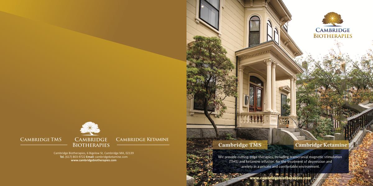 Brochure Edits to the wonderful brochure you designed!