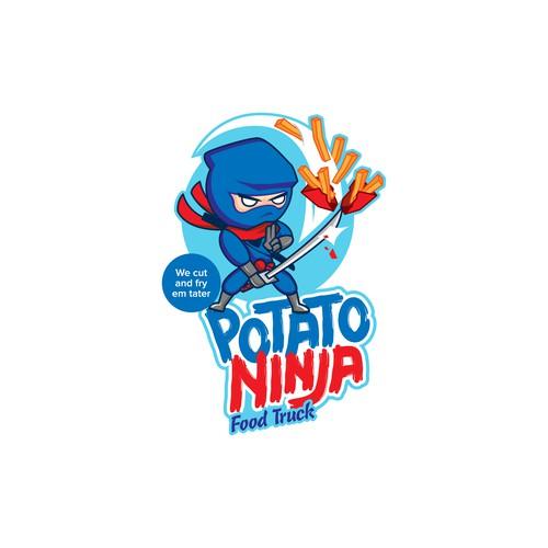 Logo for Potato Ninja