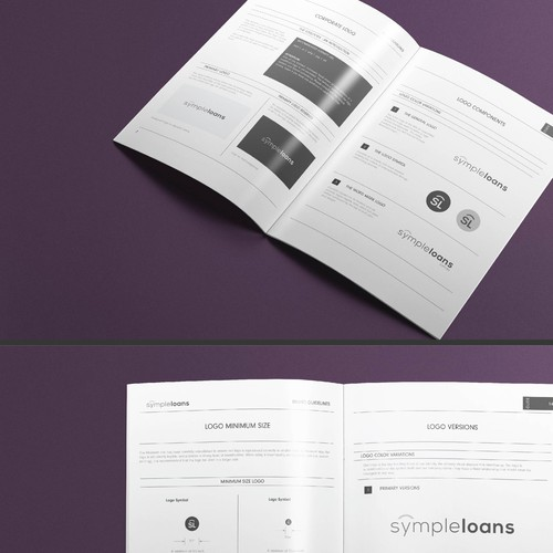 Elegant Brand Guide for Financial Institution