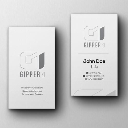 Gipper1 Business Card Design & Layout