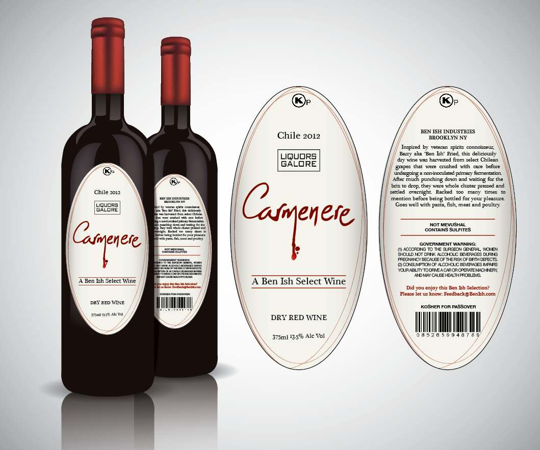 Create the next product label for Wine Label