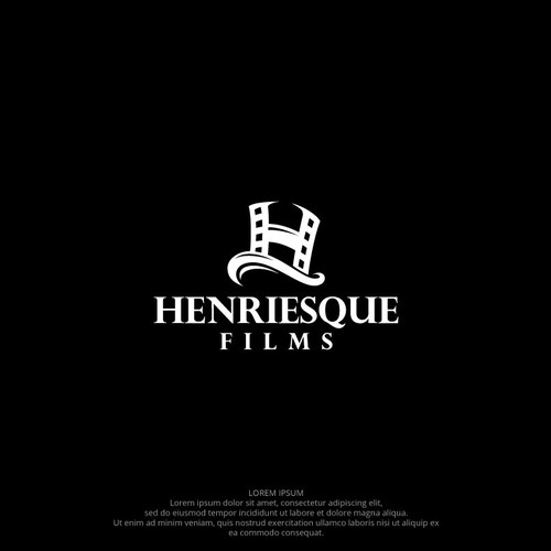 Fun and innovative logo for movie production company